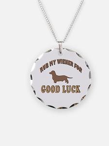 Rub My Wiener Necklace
