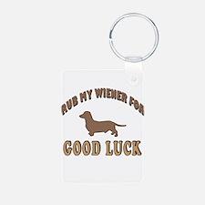 Rub My Wiener Keychains