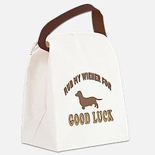 Rub My Wiener Canvas Lunch Bag