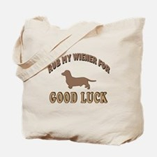 Rub My Wiener Tote Bag