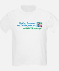 We Think We Can... Kids T-Shirt