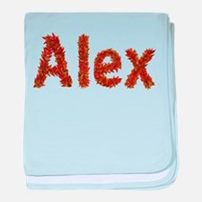 Alex Fall Leaves baby blanket