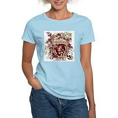 Paralegals Rock! Women's Pink T-Shirt