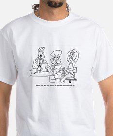 Let's Work Through Lunch Shirt