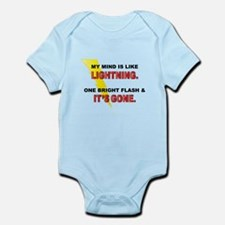 My Mind - Funny Saying Infant Bodysuit