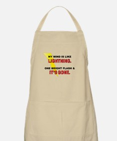 My Mind - Funny Saying Apron