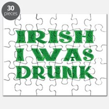 IRISH I Was Drunk Puzzle