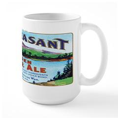 Vintage Maine Ad Large Mug