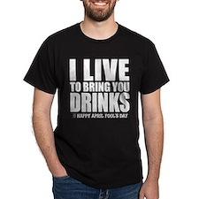 April Fools: Drinks T-Shirt