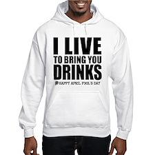 April Fools: Drinks Hoodie