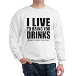 April Fools: Drinks Sweatshirt