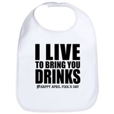 April Fools: Drinks Bib