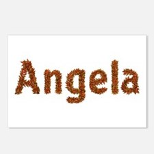 Angela Fall Leaves Postcards 8 Pack