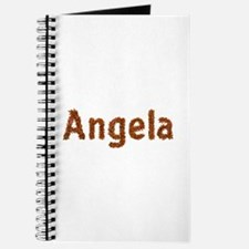 Angela Fall Leaves Journal