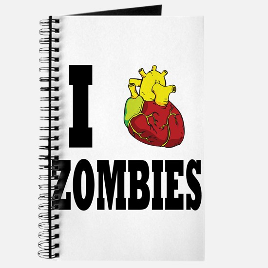 I Heart Zombies Journal