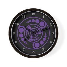 Crop Circle Wall Clock