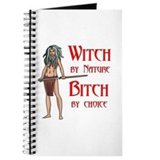Unique Witch woman pagan wicca wiccan Journal
