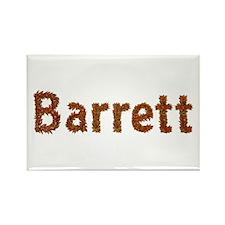 Barrett Fall Leaves Rectangle Magnet