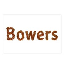 Bowers Fall Leaves Postcards 8 Pack