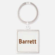Barrett Fall Leaves Square Keychain