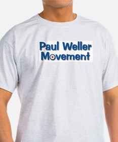 Paul Weller Ash Grey T-Shirt