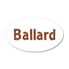 Ballard Fall Leaves Wall Decal