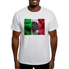 Neapolitan Mastiff Italian In Ash Grey T-Shirt