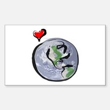 Earth Native Globe Only Decal