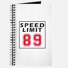 Speed Limit 89 Journal