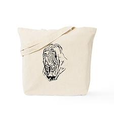 Mastino Head Study Tote Bag
