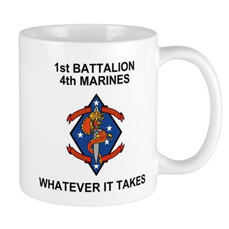 1st Bn 4th Marines<BR>Coffee Cup