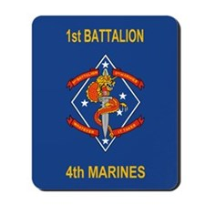 1st Bn 4th Marines<BR>Mousepad