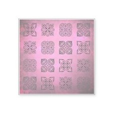 "FUSCHIA Square Sticker 3"" x 3"""