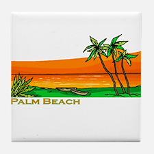 Palm Beach, Florida Tile Coaster