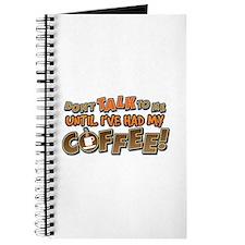 Had My Coffee Journal