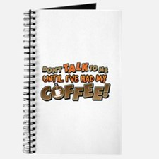 Had My Coffee Journal