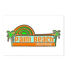 Palm Beach, Florida Postcards (Package of 8)