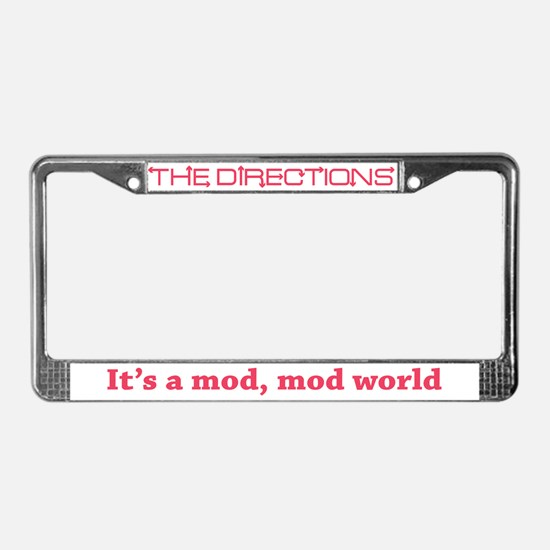The Directions License Plate Frame