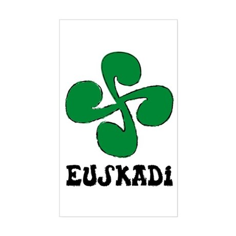 Euskadi Rectangle Sticker