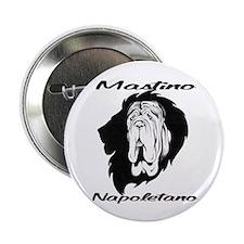 "Mastino Napoletano 2.25"" Button (10 pack)"