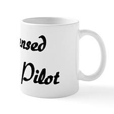 Licensed Broom Pilot Coffee Mug