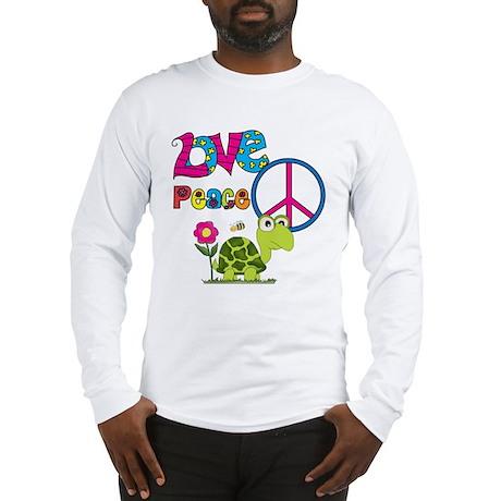 Love Peace Turtles Long Sleeve T-Shirt