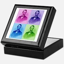President Abe Lincoln Keepsake Box