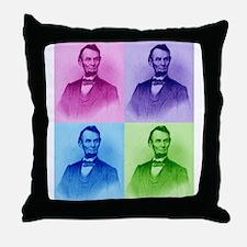 President Abe Lincoln Throw Pillow
