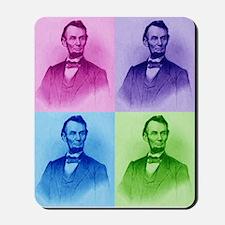 President Abe Lincoln Mousepad