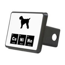 Black Russian Terrier Hitch Cover