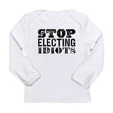 Elected Idiots Long Sleeve Infant T-Shirt