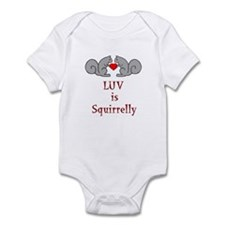 Squirrel Valentine Infant Bodysuit