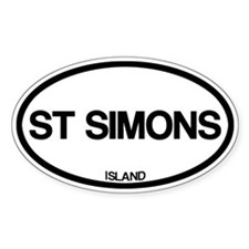 St. Simons Island Decal