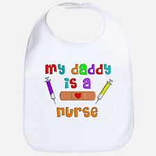 My daddy is a nurse Bib
